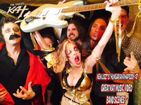 "NEW LISZT'S ""HUNGARIAN RHAPSODY #2"" GREAT KAT MUSIC VIDEO BAND SCENES! SNEAK PEEK from NEW DVD!"