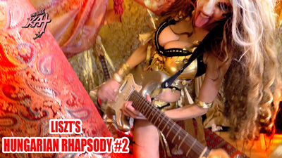 THE GREAT KAT LISZT'S HUNGARIAN RHAPSODY #2 MUSIC VIDEO