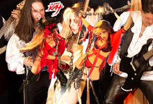 """HOT GODDESS WANTS CHAIN YOU UP! From The Great Kat's LISZT'S """"HUNGARIAN RHAPSODY #2"""" MUSIC VIDEO!"""