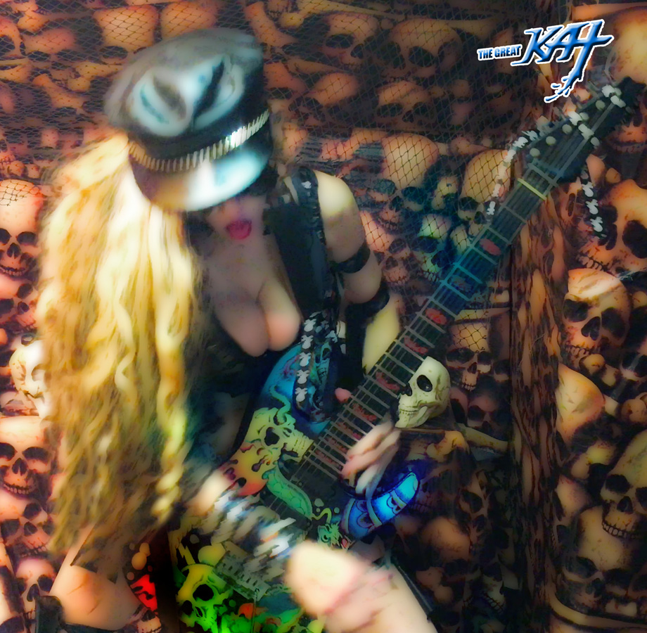 """HOT & HEAVY METAL!! From The Great Kat's LISZT'S """"HUNGARIAN RHAPSODY #2"""" MUSIC VIDEO!"""