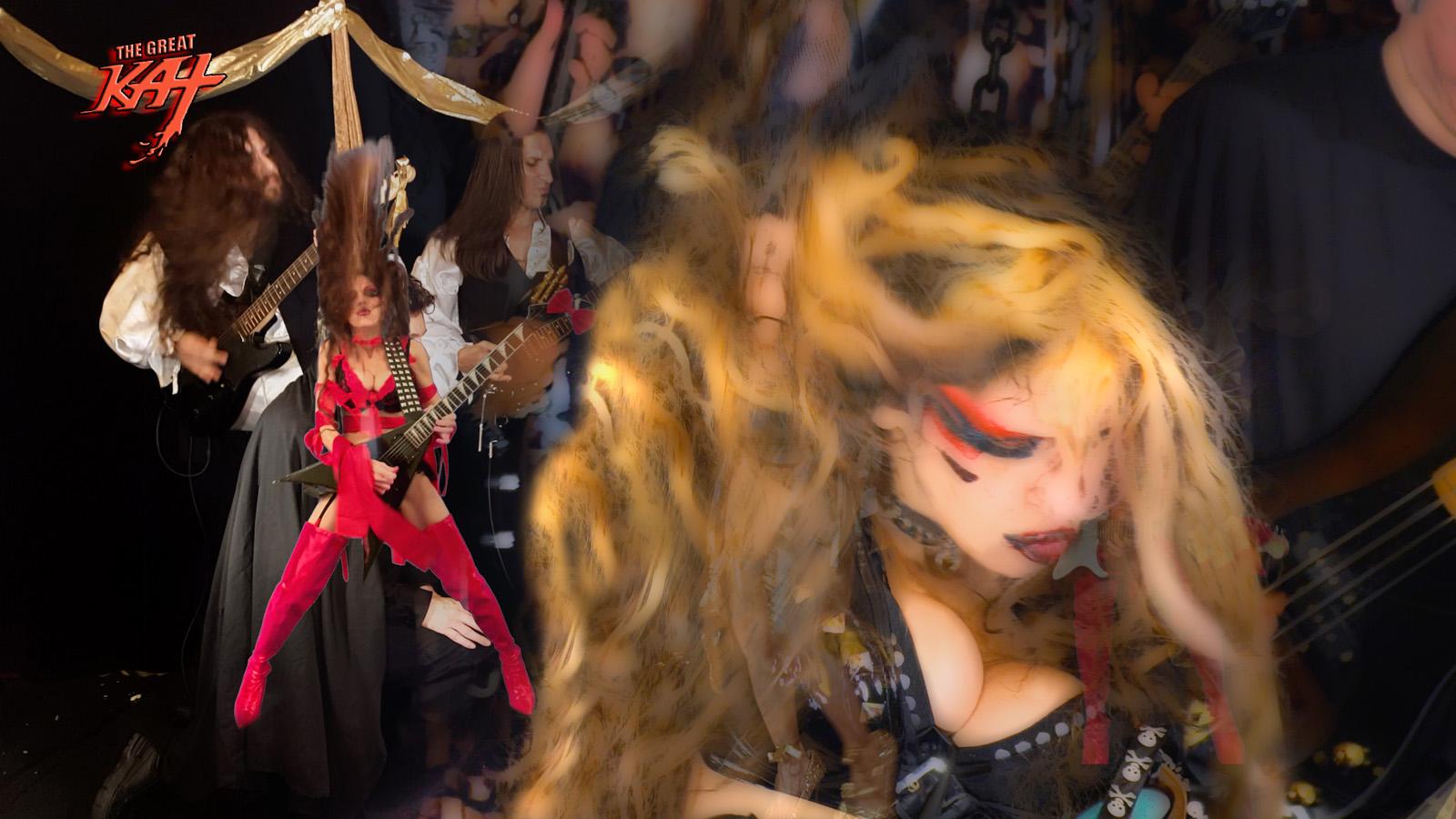 "KAT KARTOON SHREDS LISZT'S ""HUNGARIAN RHAPSODY #2""!!! From The Great Kat's LISZT'S ""HUNGARIAN RHAPSODY #2"" MUSIC VIDEO!!!!"