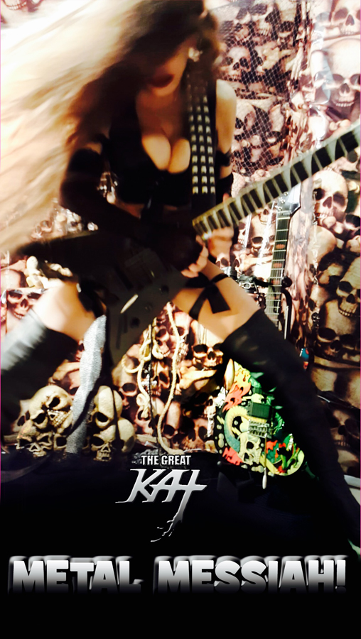 The Great Kat IS the METAL MESSIAH! SNEAK PEEK from NEW DVD
