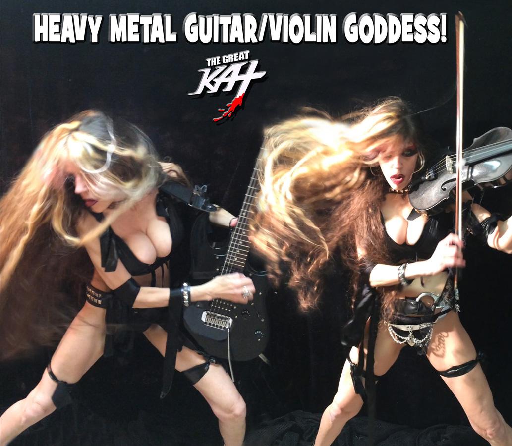 HEAVY METAL GUITAR/VIOLIN GODDESS!! SNEAK PEEK from NEW DVD