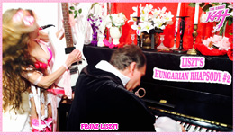 "FRANZ LISZT & THE GREAT KAT in LISZT'S ""HUNGARIAN RHAPSODY #2"" SNEAK PEEK from NEW DVD!"
