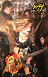 GODDESS SHREDS with her ALL-MALE BAND!!!  Sneak Peek from New DVD!