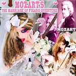"NEW! WORLD PREMIERE on iTUNES & APPLEMUSIC: MOZART'S ""THE MARRIAGE OF FIGARO OVERTURE"" SINGLE by The Great Kat Guitar/Violin Legend!"