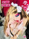 SWEET GODDESS' VALENTINE'S CANDY!  NEW GREAT KAT CD PHOTO!