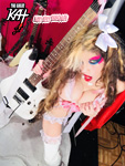 HOT! SEXY SHREDDER!! NEW GREAT KAT CD PHOTO!
