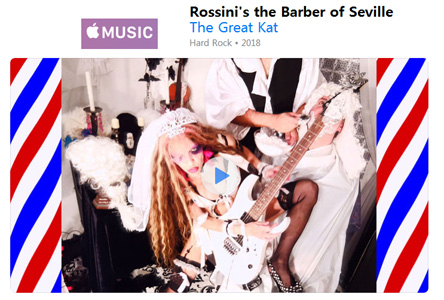 THE GREAT KAT'S ROSSINI'S THE BARBER OF SEVILLE