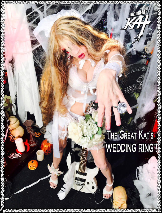 """The Great Kat's """"WEDDING RING""""! at """"ROUND OF THE GOBLINS""""! SNEAK PEAK FROM NEW DVD!"""