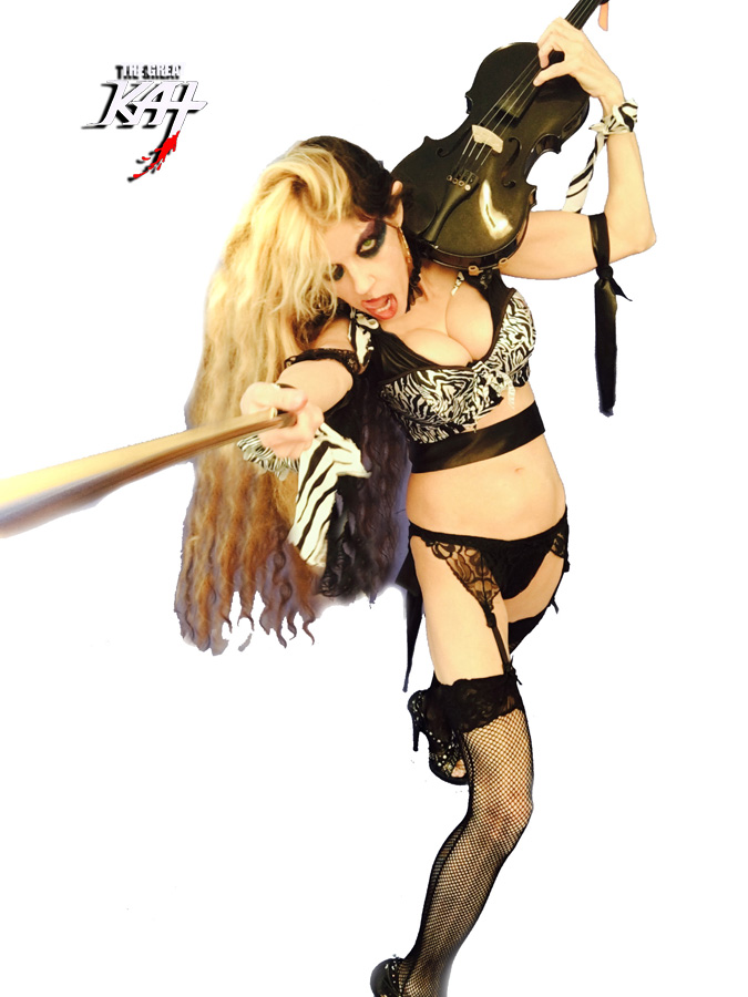 """VOTE! For THE GREAT KAT VIOLIN GODDESS! at """"ROUND OF THE GOBLINS""""! SNEAK PEAK FROM NEW DVD!"""