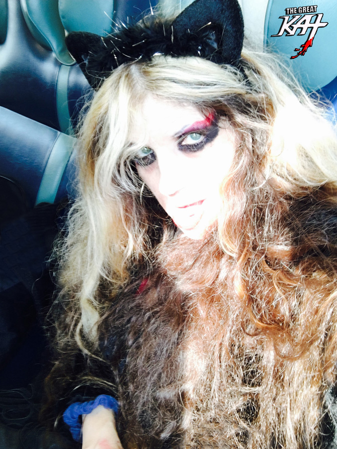 KITTY KAT SHRED GODDESS TRAVELING to NEW YORK CITY TODAY OCT 16, 2016!