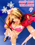 GODDESS' BROKEN VIOLIN A STRING! SNEAK PEEK FROM NEW GREAT KAT DVD!