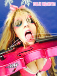 VIOLIN INSANITY! SNEAK PEEK FROM NEW GREAT KAT DVD!