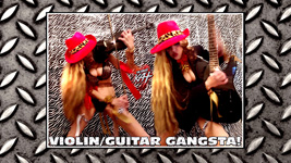 VIOLIN/GUITAR GANGSTA!