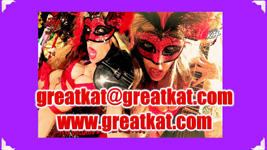The Great Kat MARDI GRAS GODDESS!