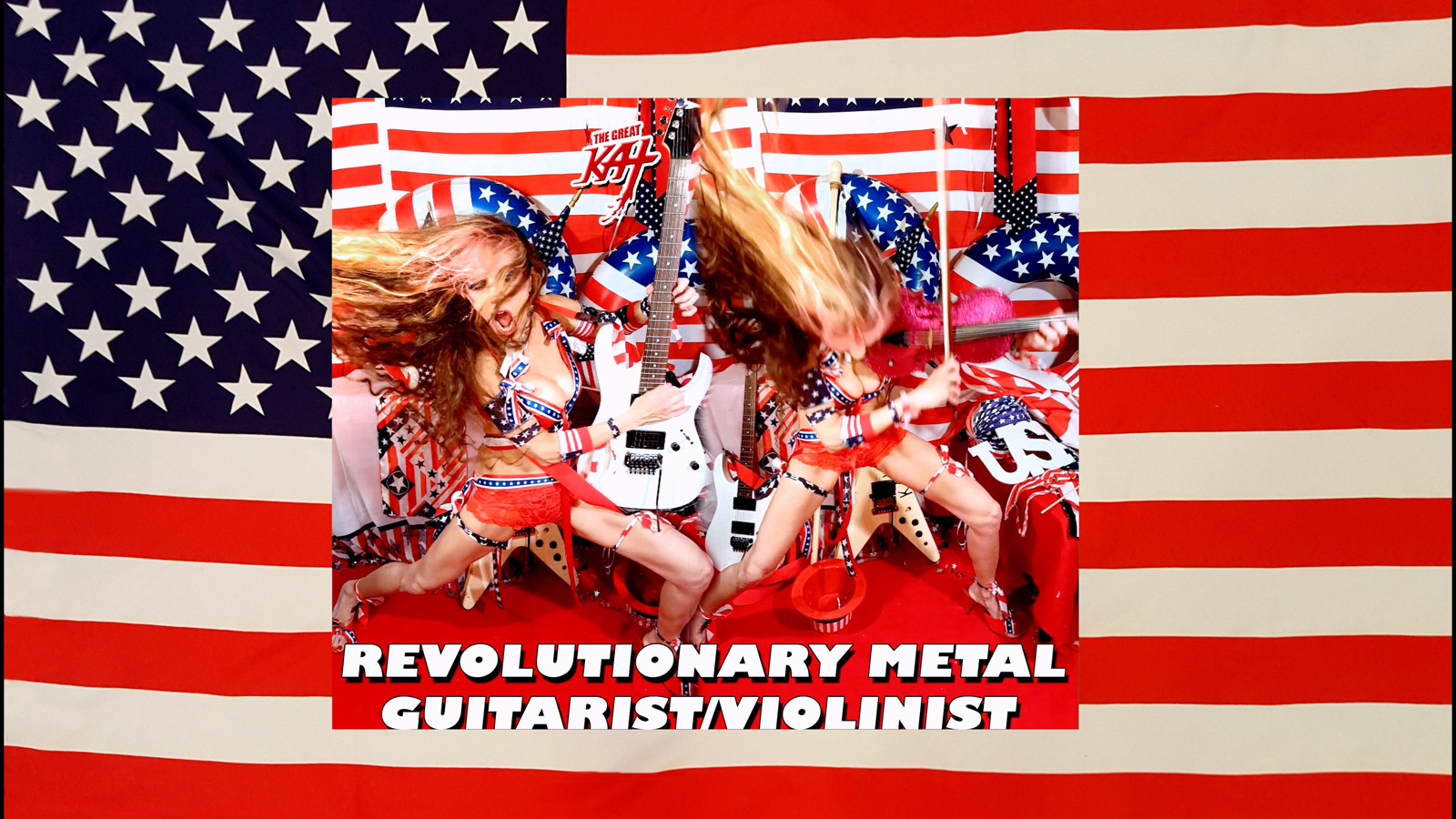REVOLUTIONARY METAL GUITARIST/VIOLINIST!