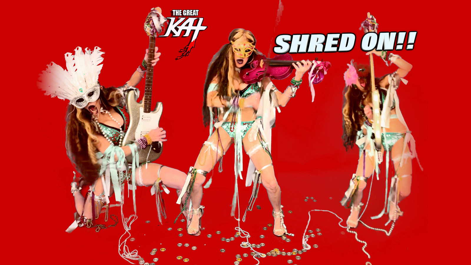 THE GREAT KAT! SHRED ON!