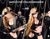 "S&M GUITAR/VIOLIN SHREDDER!! THE GREAT KAT SHREDS SARASATE'S ""CARMEN FANTASY""!  THE GREAT KAT SHREDS SARASATE'S ""CARMEN FANTASY"""