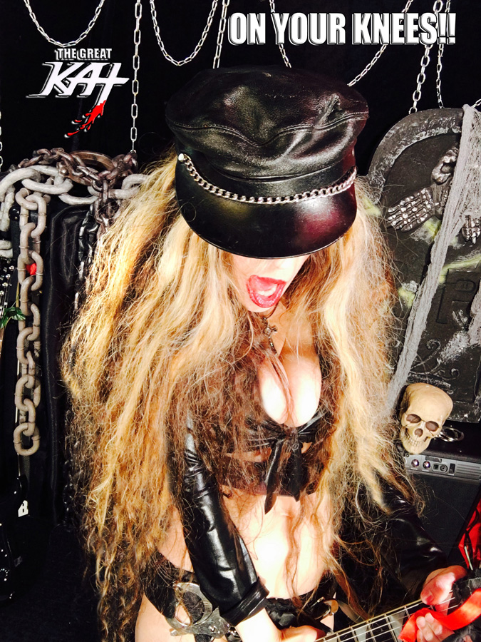 """ON YOUR KNEES! THE GREAT KAT SHREDS SARASATE'S """"CARMEN FANTASY""""!"""