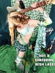 """HOT & SHREDDING IRISH LASS! THE GREAT KAT SHREDS SARASATE'S """"CARMEN FANTASY"""""""