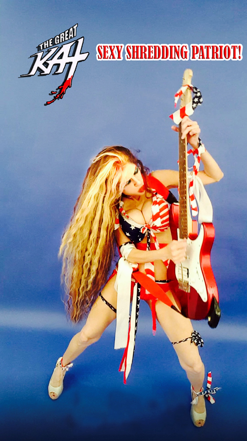 SEXY SHREDDING PATRIOT! Sneak Peek from New DVD!