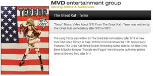 "MVD ENTERTAINMENT GROUP PRESENTS: The Great Kat's ""TERROR"""