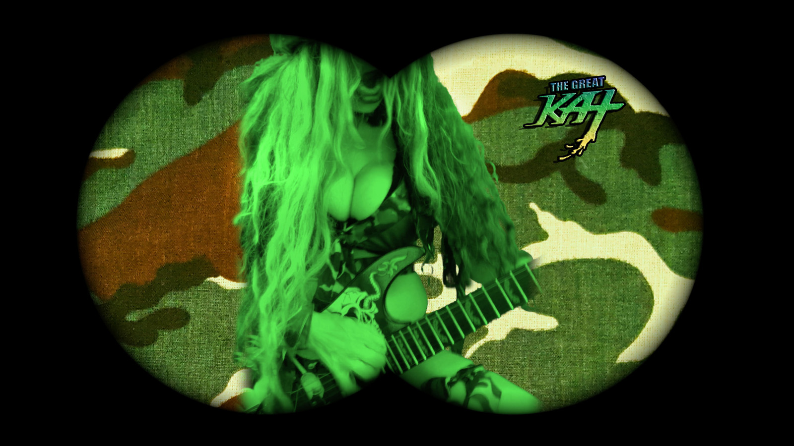 "SPECIAL OPS! From The Great Kat's ""TERROR"" MUSIC VIDEO!"