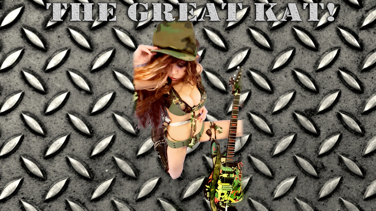 """MISTRESS of COMBAT! From The Great Kat's """"TERROR"""" MUSIC VIDEO!"""