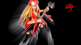 """HOT SHRED FIREFIGHTER! From The Great Kat's """"TERROR"""" MUSIC VIDEO!"""
