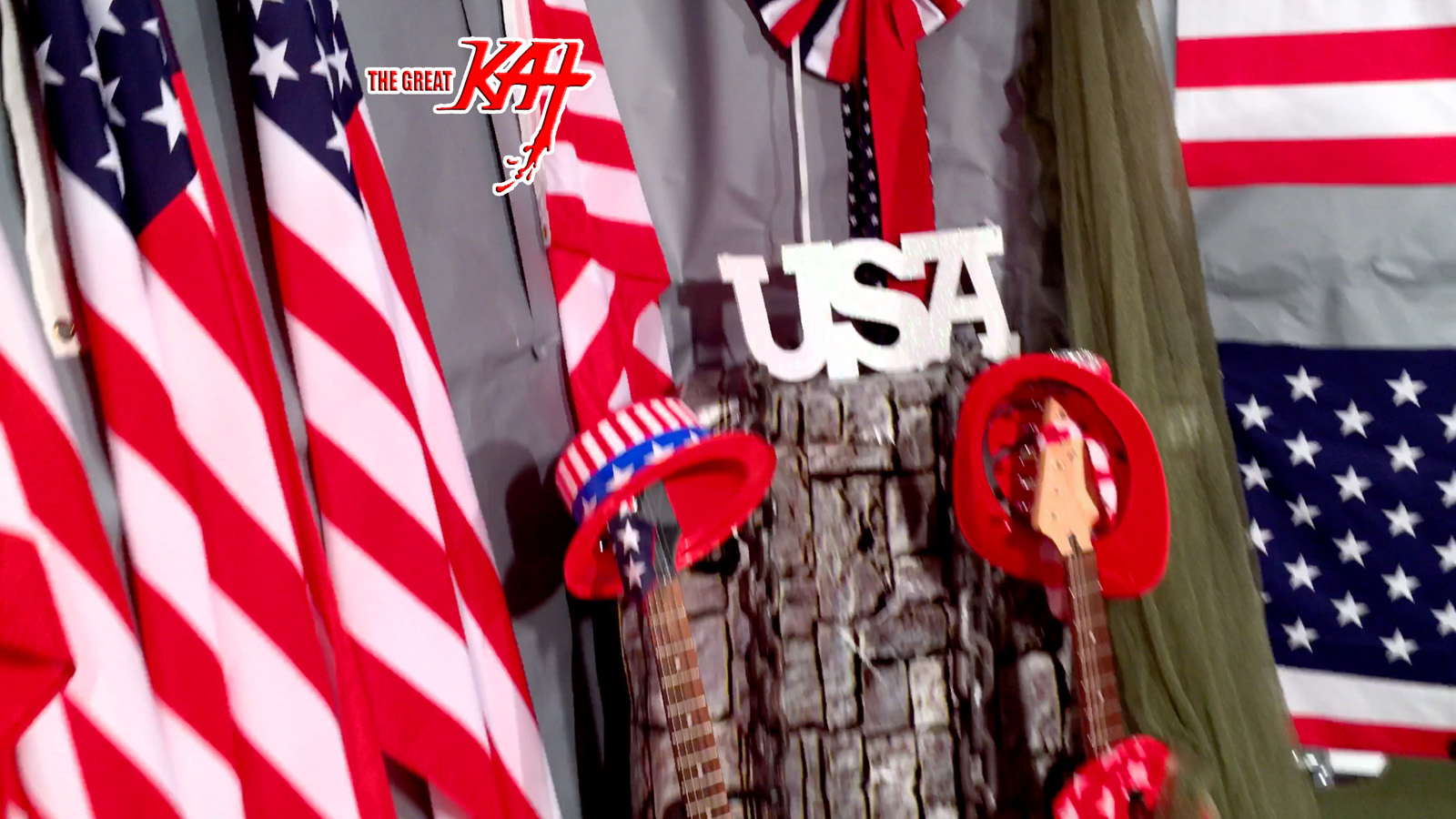 """USA! From The Great Kat's """"TERROR"""" MUSIC VIDEO!"""