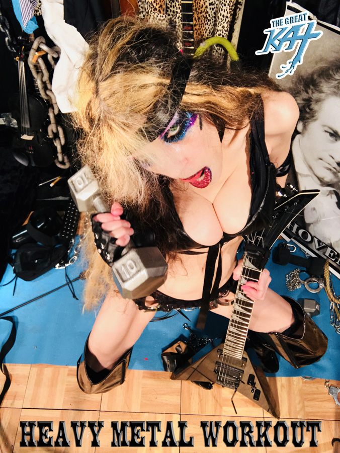 HEAVY METAL WORKOUT!! NEW GREAT KAT CD PHOTO!
