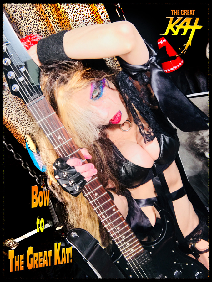 BOW TO THE GREAT KAT! NEW GREAT KAT CD PHOTO!
