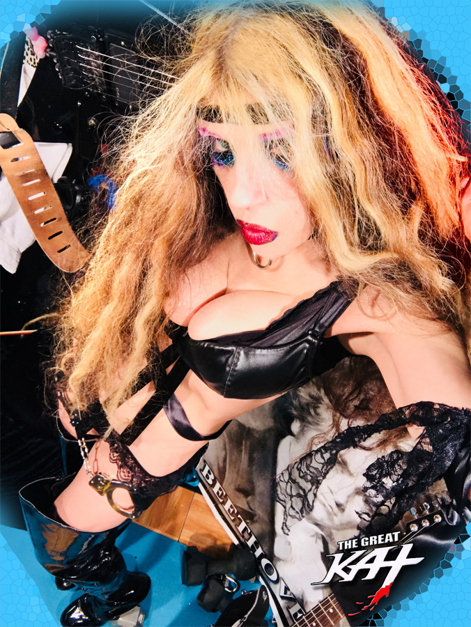 INNOCENT SHRED ICON! NEW GREAT KAT CD PHOTO!