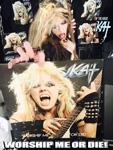 WORSHIP ME OR DIE! NEW GREAT KAT CD PHOTO!