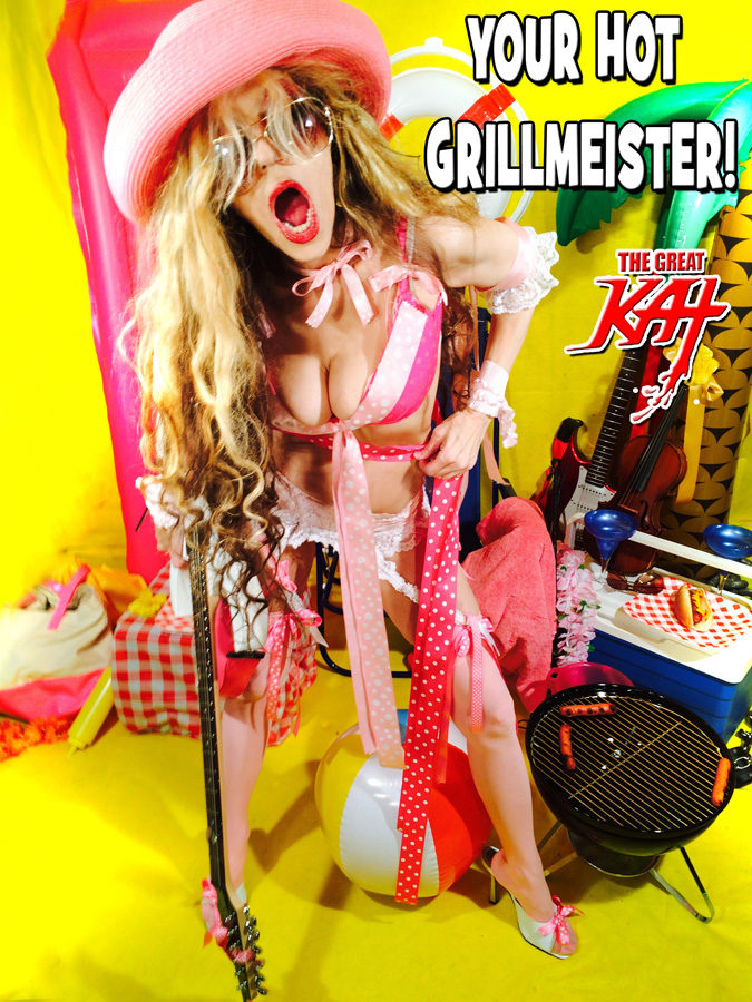YOUR HOT GRILLMEISTER!