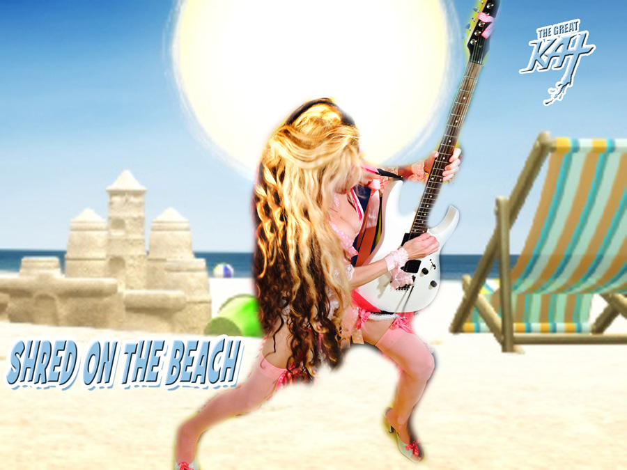 SHRED ON THE BEACH!