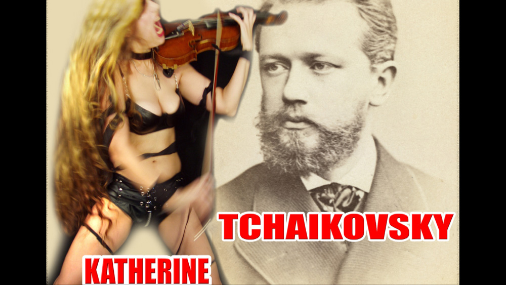 TCHAIKOVSKY VIOLIN CONCERTO CADENZA - RARE CLASSICAL VIOLIN RECORDING of KATHERINE THOMAS (THE GREAT KAT) Virtuoso Performance of TCHAIKOVSKY!
