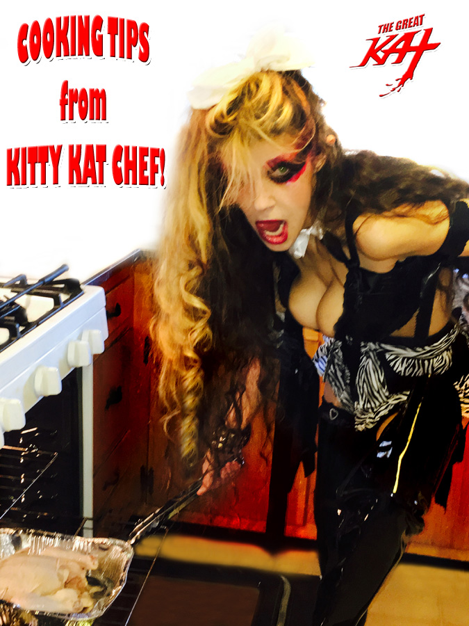 COOKING TIPS from KITTY KAT CHEF!