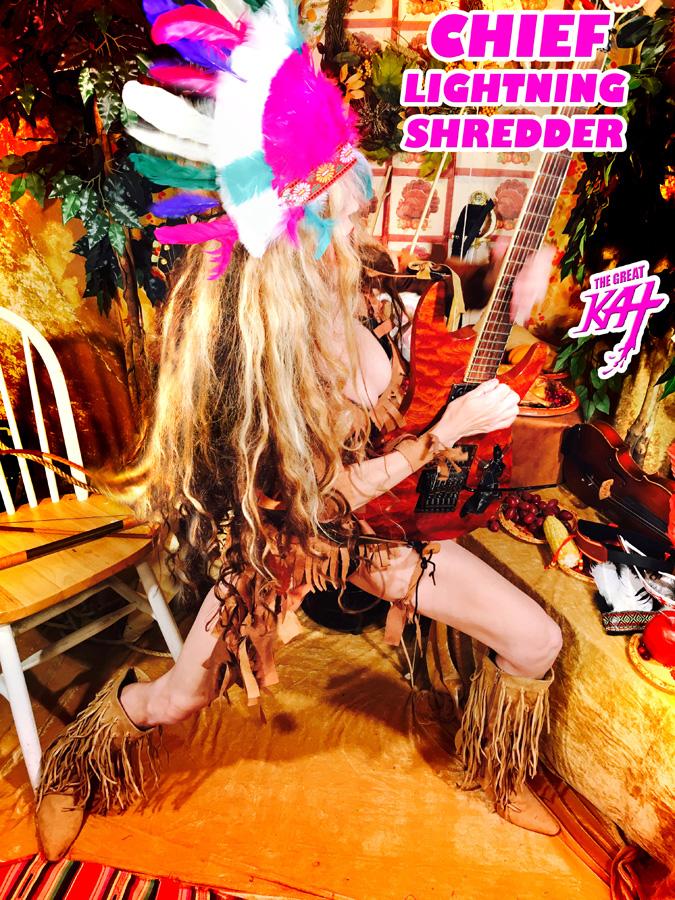 CHIEF LIGHTNING SHREDDER!