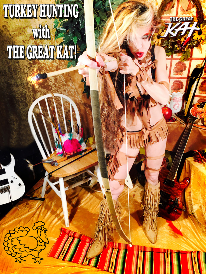 TURKEY HUNTING with THE GREAT KAT!