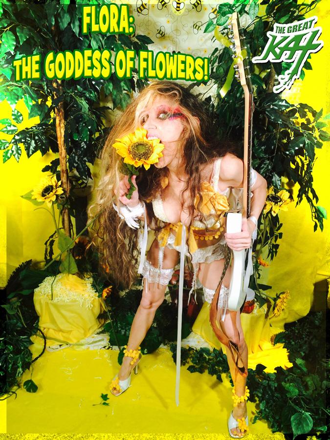 FLORA: GODDESS OF FLOWERS!