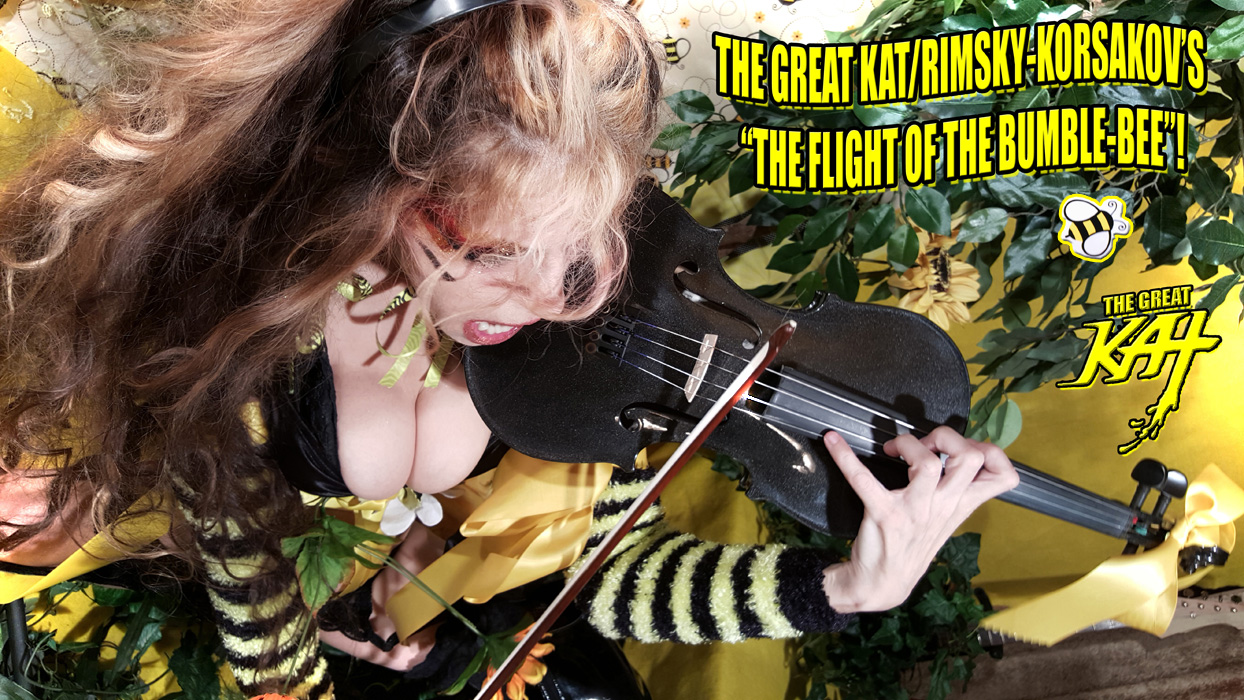 "THE GREAT KAT/RIMSKY-KORSAKOV'S ""THE FLIGHT OF THE BUMBLE-BEE""!"
