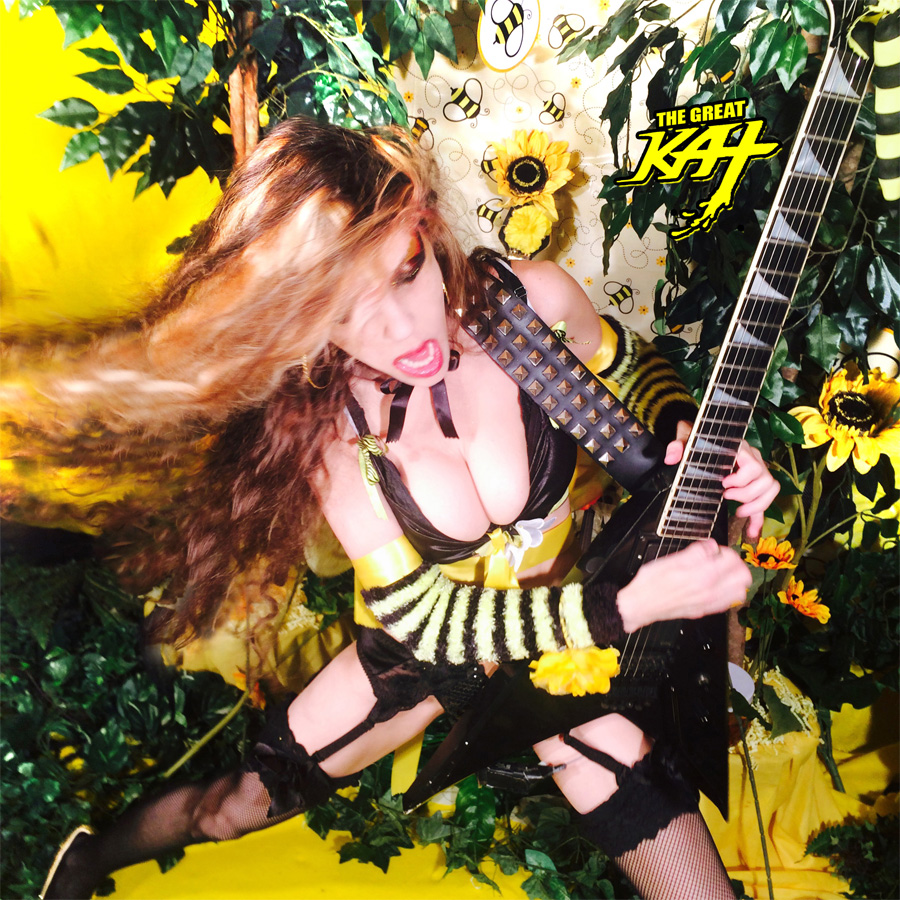 """THE GREAT KAT SHREDS """"THE FLIGHT OF THE BUMBLE-BEE""""!"""