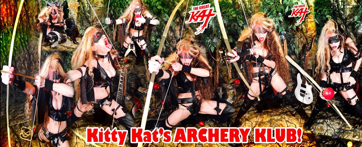 Kitty Kat's ARCHERY KLUB!