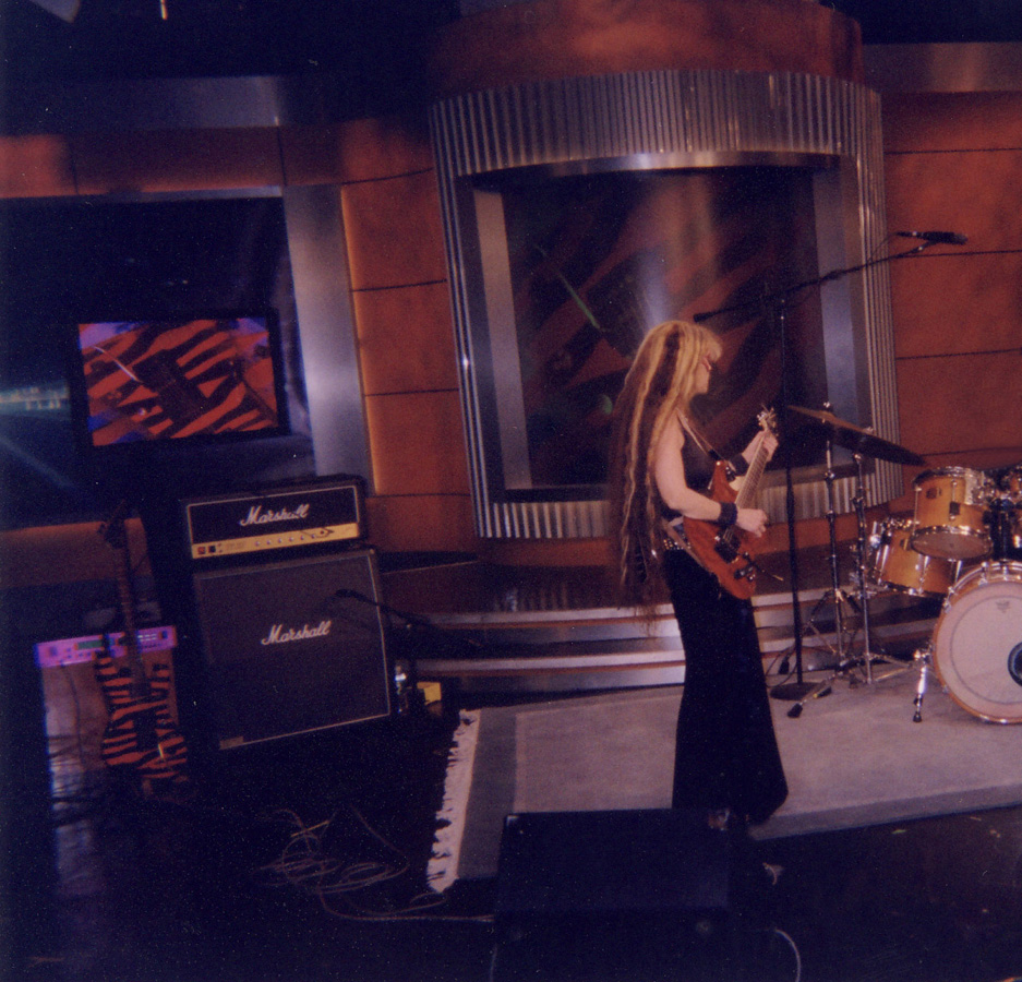 """The Great Kat on NBC TV's """"WEEKEND TODAY IN NY"""" TV SHOW! """"The Great Kat"""" World's Fastest Female Guitarist"""