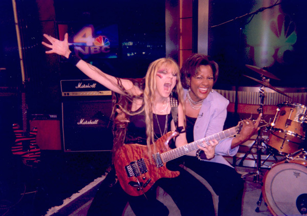 "The Great Kat SHREDDING with Pat Battle, Host of ""WEEKEND TODAY IN NY"" TV SHOW"