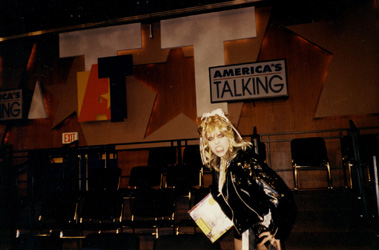 AMERICA'S TALKING TV SHOW (CNBC TV) INTERVIEW WITH THE GREAT KAT GUITAR GODDESS!