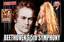 "BEETHOVEN'S 5th SYMPHONY - THE GREAT KAT is the REINCARNATION of BEETHOVEN! COMMERCIAL for ""BEETHOVEN'S GUITAR SHRED"" DVD!"