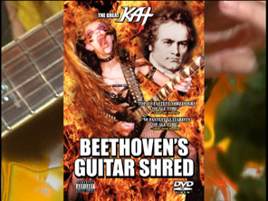 "NEW! THE GREAT KAT TV COMMERCIAL for ""BEETHOVEN'S GUITAR SHRED"" DVD - ""TOP 10 FASTEST SHREDDERS""! Featuring The Great Kat's ""THE FLIGHT OF THE BUMBLE-BEE""! ENERGIZE NOW!! https://youtu.be/A39ikZndYJY"